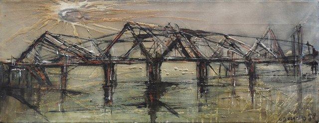 Landscape w/ Bridge, 1959