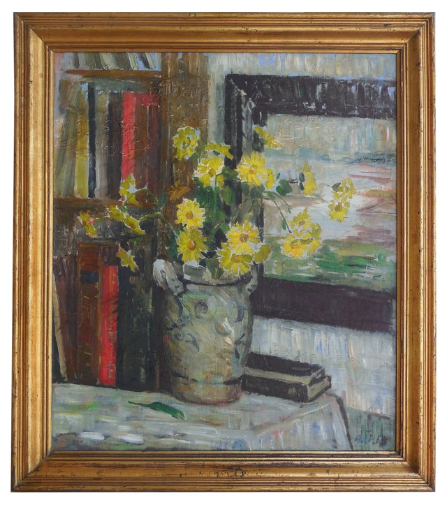 RL/Still Life of Daisies, 1913