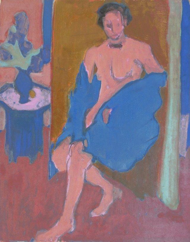 Seated Nude, Victor di Gesu,    1955
