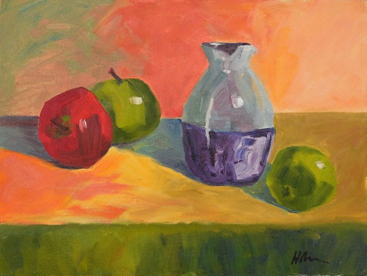 Still    Life w/ Fruit & Carafe