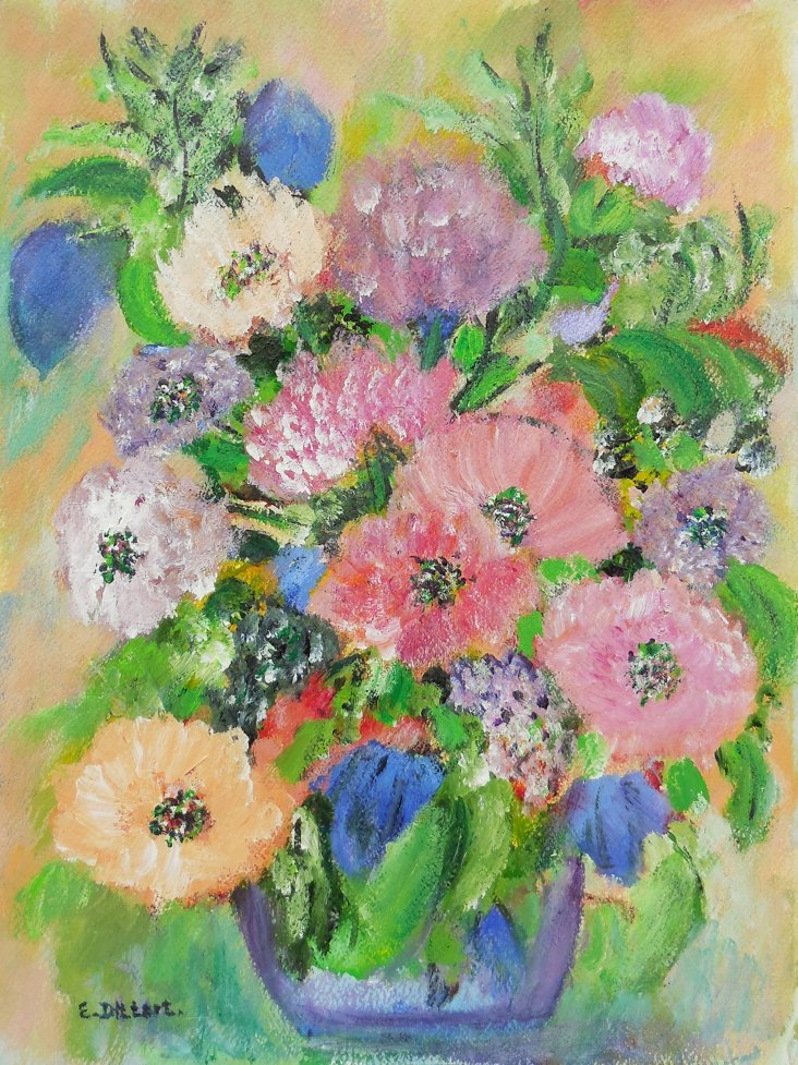 Spring Bouquet by Edith Dittert