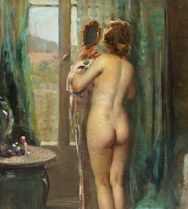 Nude in Interior, 1920s