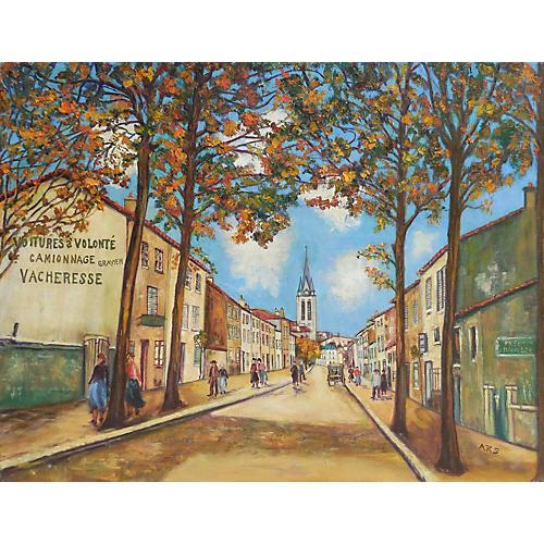 View of Montmartre, Paris, C. 1965