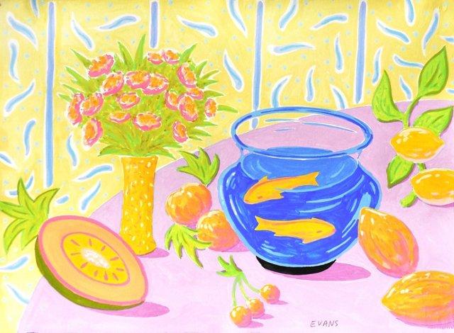 Still Life w/ Goldfish