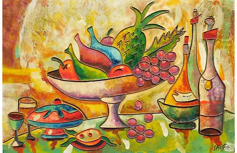 Still Life of Fruit, 1970s