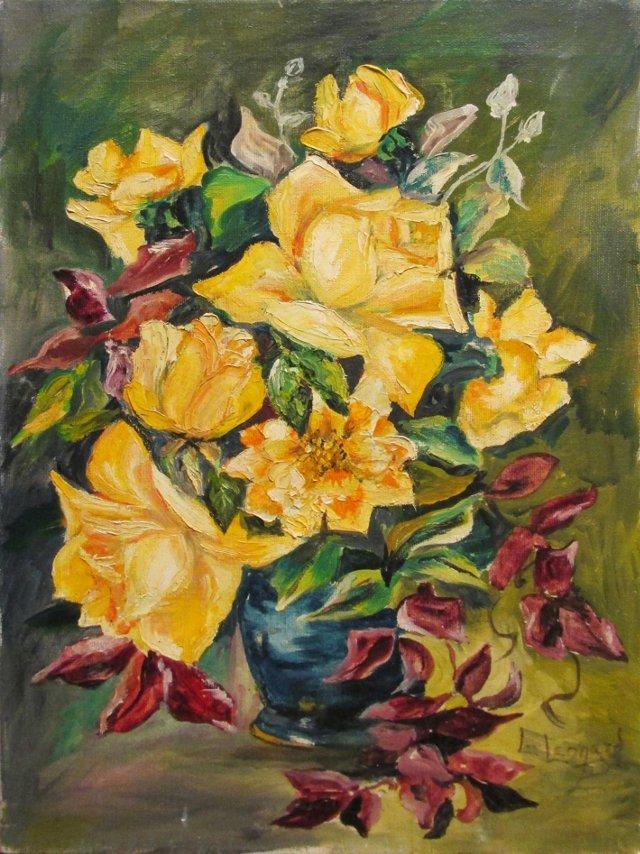 Yellow Dog Roses