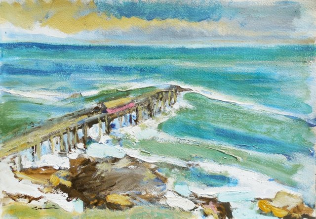 Old Monterey by   Robert Canete