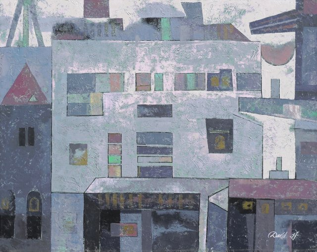 Pastel Cityscape, 1975