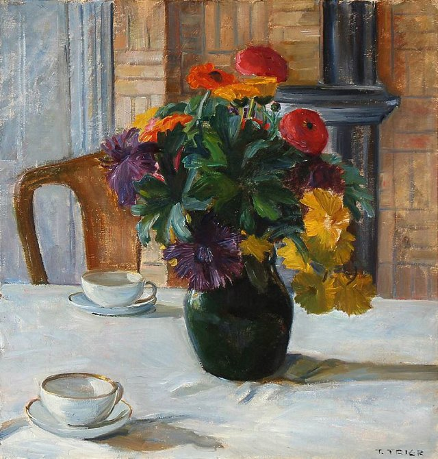 Still Life by Troels Trier, 1925