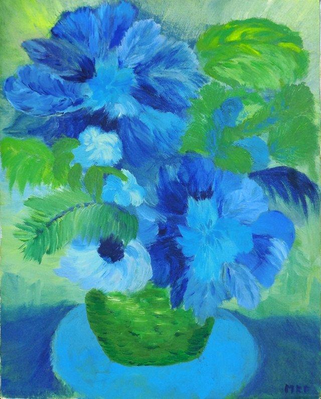 Blue Bouquet, 1975