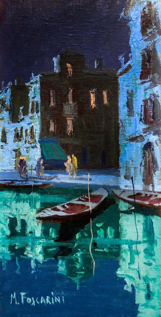 Venice by Moonlight, Marco Foscarini