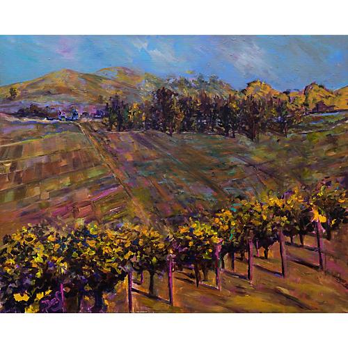 Golden Vineyard by Dee Steiner