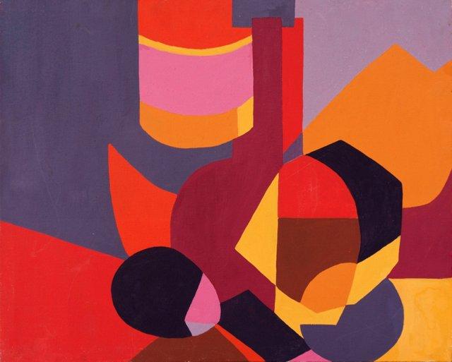 Abstract Still Life, 1975