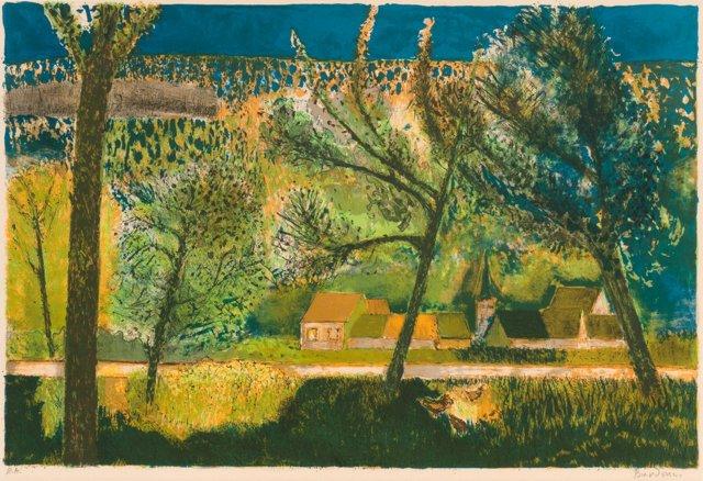 Provence Landscape by Guy Bardone