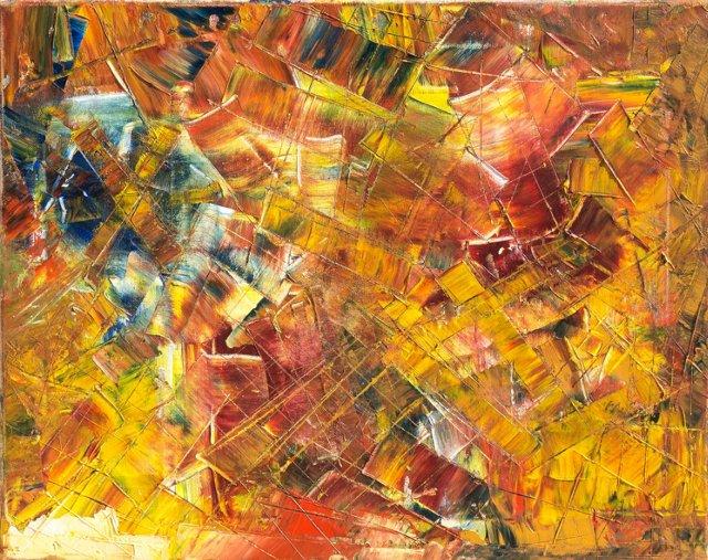 Autumn Action Abstract, 1970s