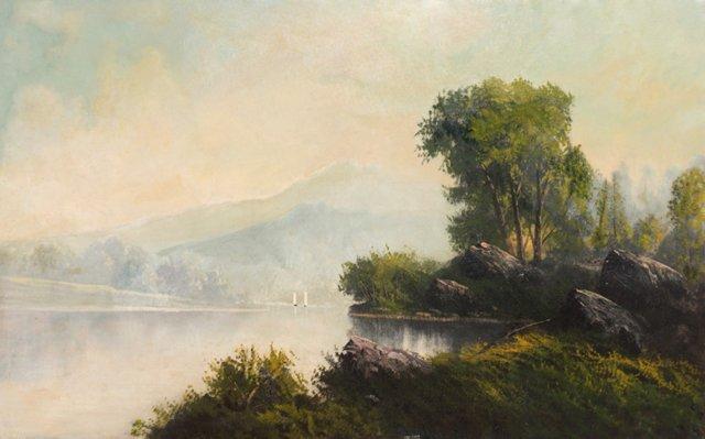 American School Landscape, 1880