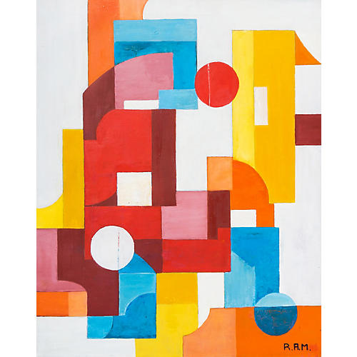 Geometric Abstract, 1969