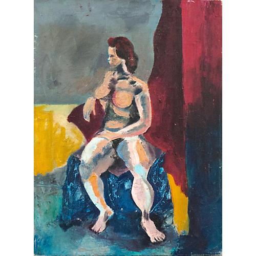 1960s Constructivist Nude