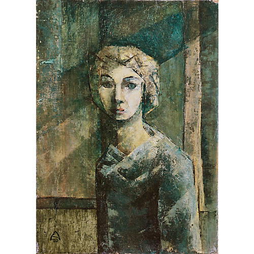 Portrait in Jade & Ivory, 1960