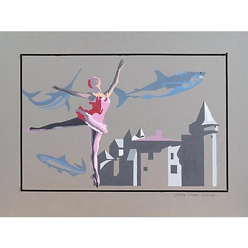 Ballerina by Mollie Moore-Sullivan