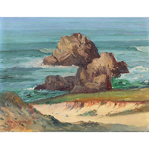 Carmel Coast by F.M. Pebbles, 1924