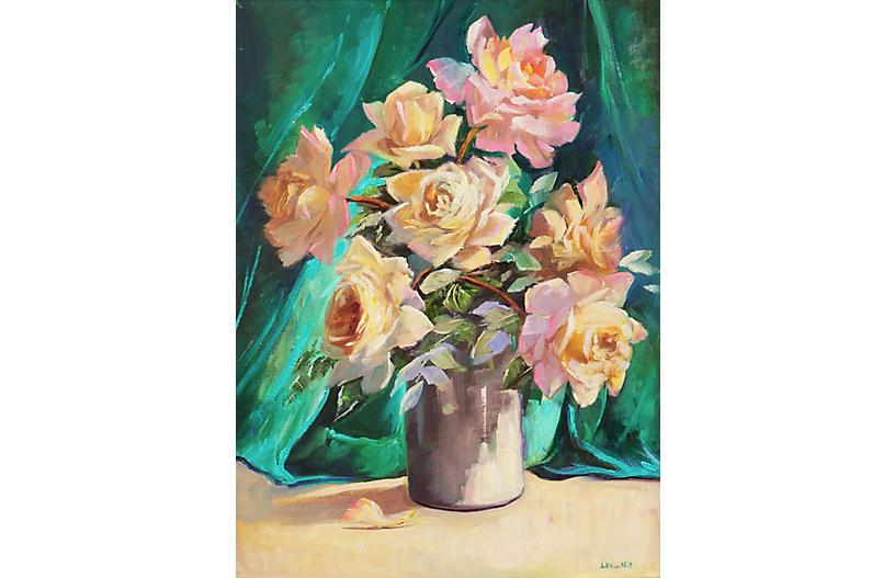 Dog Roses by Dott Bartlett
