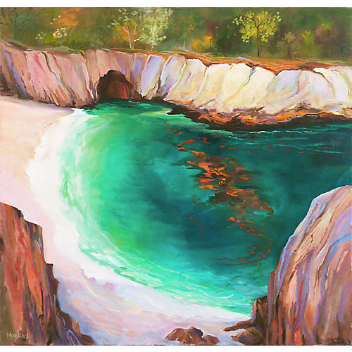 Big Sur Cove by Kathleen Murray