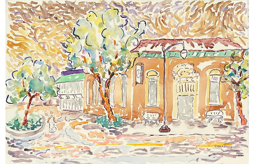 The Old Los Gatos Bank, Donald Geoffroy