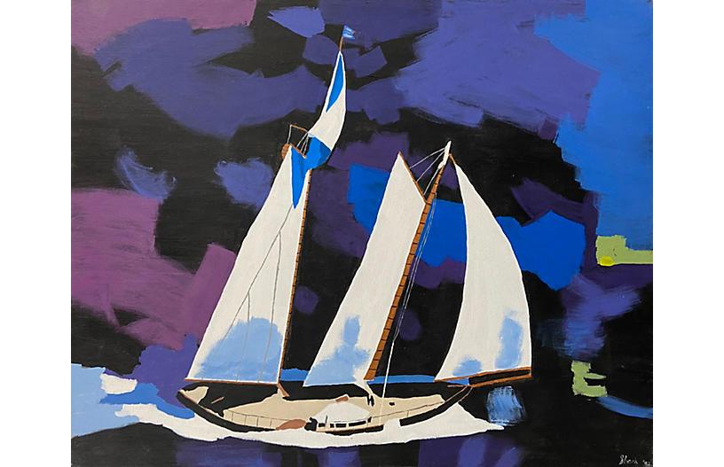 Three Master under Full Sail,1993