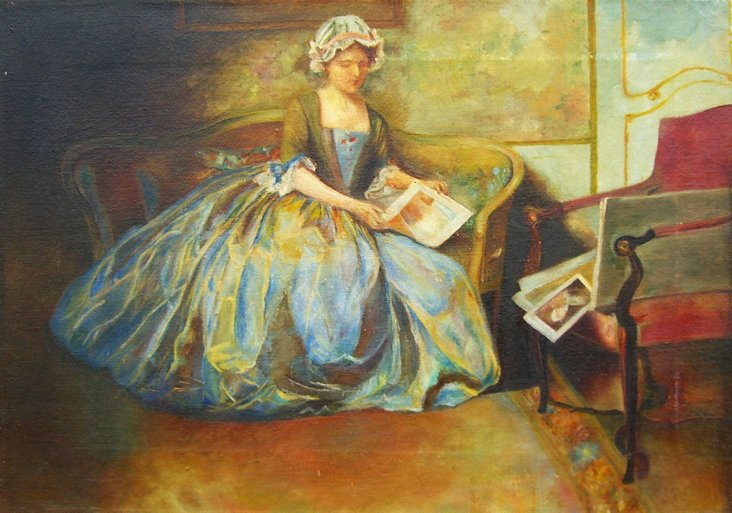 Young Woman Reading, 1880