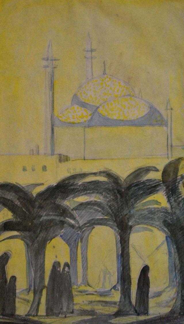 Old Cairo by Irene Gardner