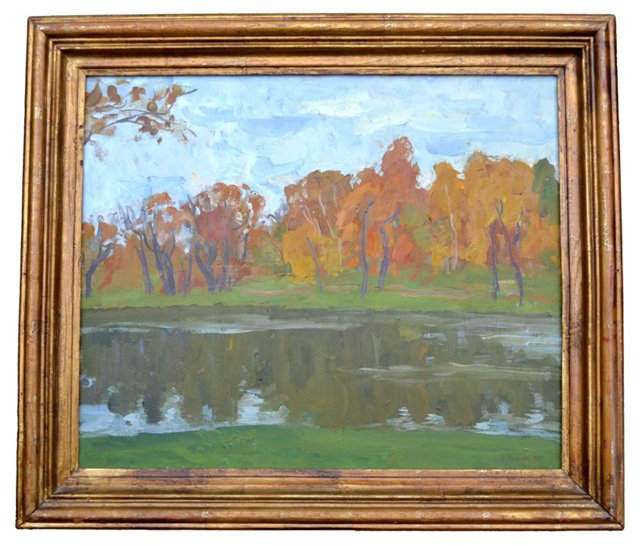 Russian Fall by Georges Leman
