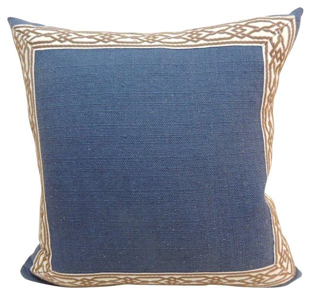 Trellis  Border  Pillow