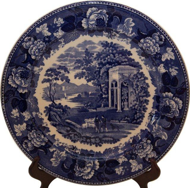 Wedgwood Blue & White Platter