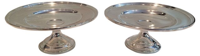 Gorham Sterling Silver Compotes, Pair