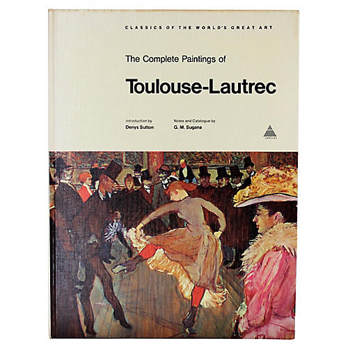 Complete Paintings of Toulouse-Lautrec