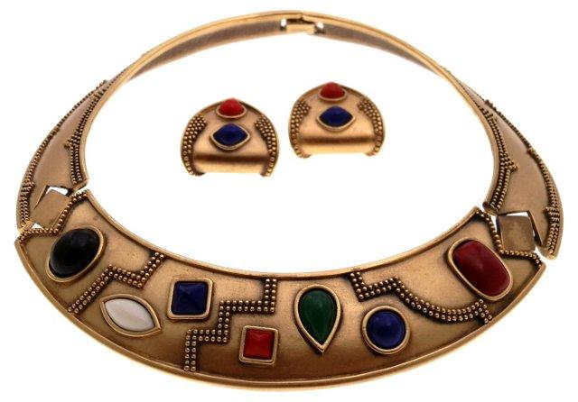 Monet Zantium Necklace & Earring Set