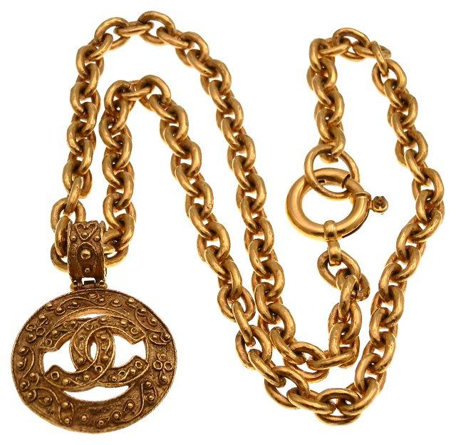 Chanel Pendant Necklace