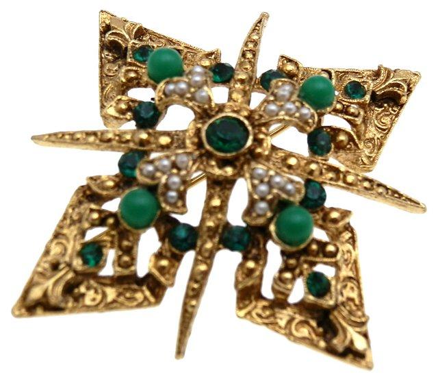 Heraldic  Brooch