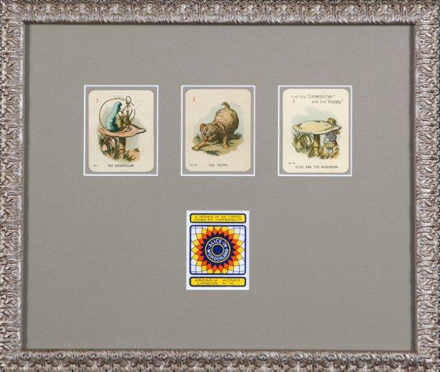 Framed    Alice in Wonderland Game Cards