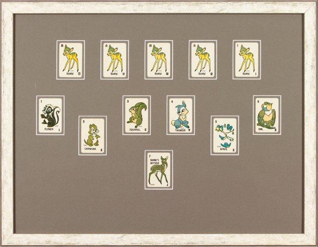 Framed Bambi Cards