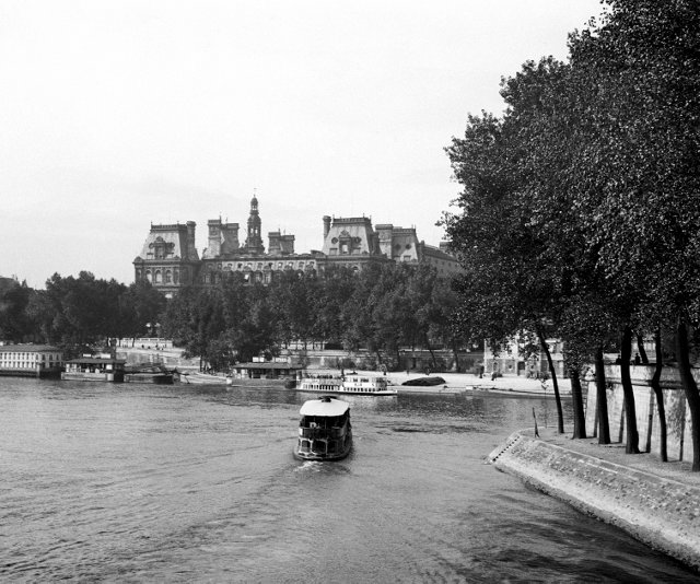 A View of the Louvre, C. 1897