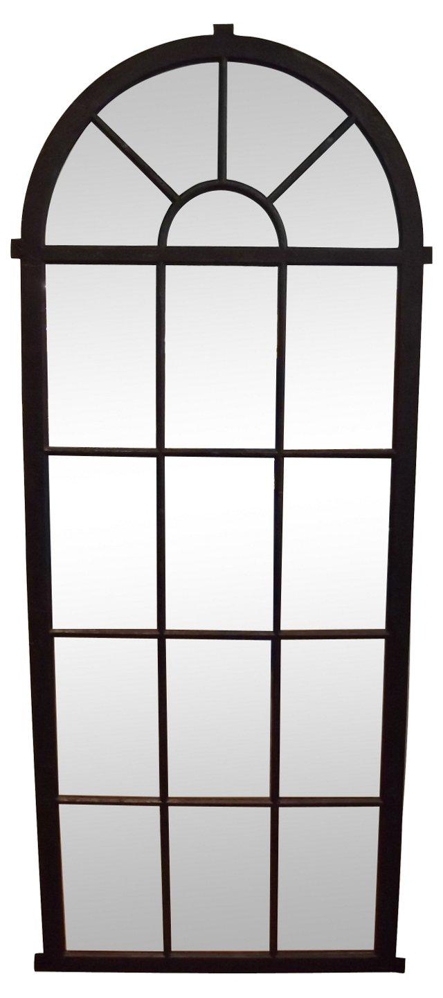 Iron Palladian Window Mirror