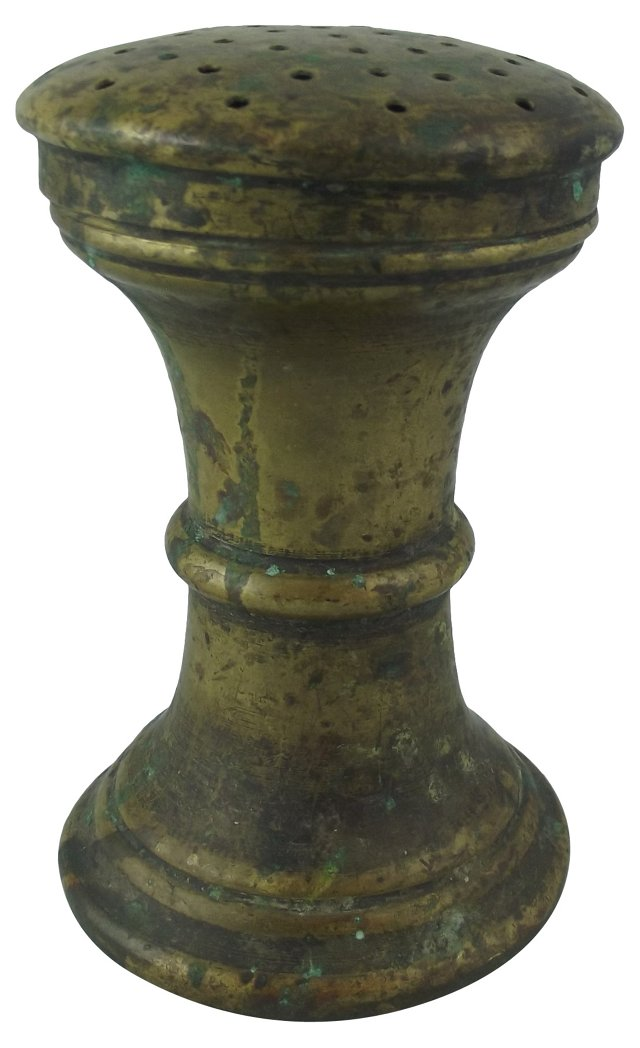 Brass Talcum Shaker