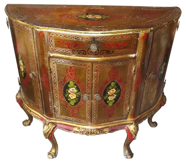 Venetian-Style  Cabinet