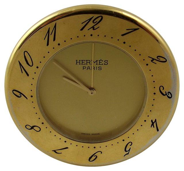 Hermès Travel Clock
