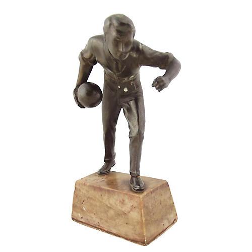 Bowling Statue