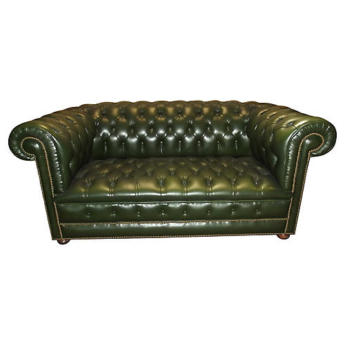 French Chesterfield Sofa