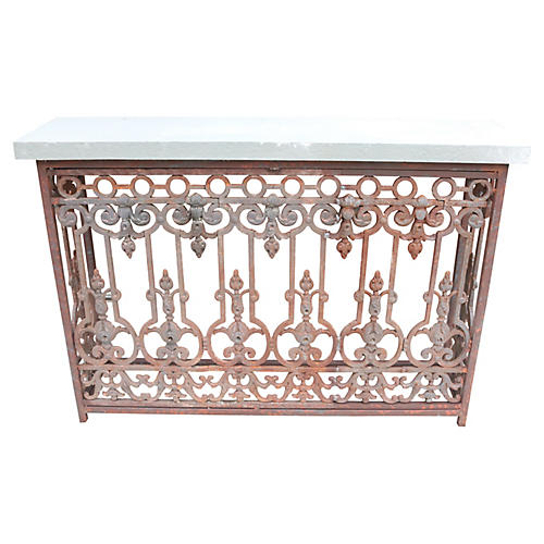 French Balcony Front Console