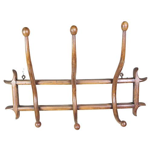 French Bentwood Coat Rack